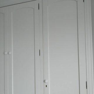 Hermoso armario, antes era color avellana.